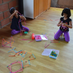 Kids Enjoying Craft Activity at SteUp