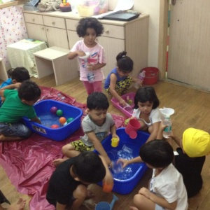 Water Activity for Kids at iLeap