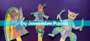 Krishna Puppets, DIY, Shadow puppets, Janmashtami