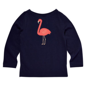 Girls Flamingo Shirt