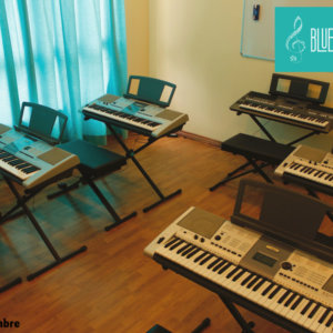Keyboard Room at BlueTimbre