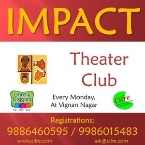Impact Theatre Club at Grins & Giggles