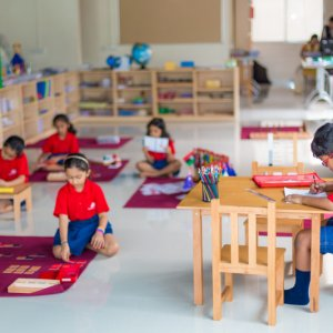 The Mutha School Classroom setup