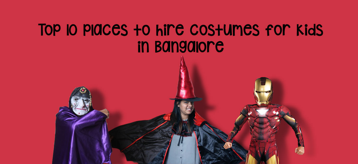 Top 10 places to hire costumes for kids in Bangalore Cover Image