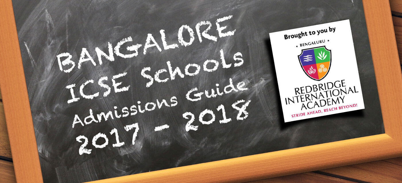 Bangalore ICSE Schools Admission Guide  2017 – 2018 Cover Image