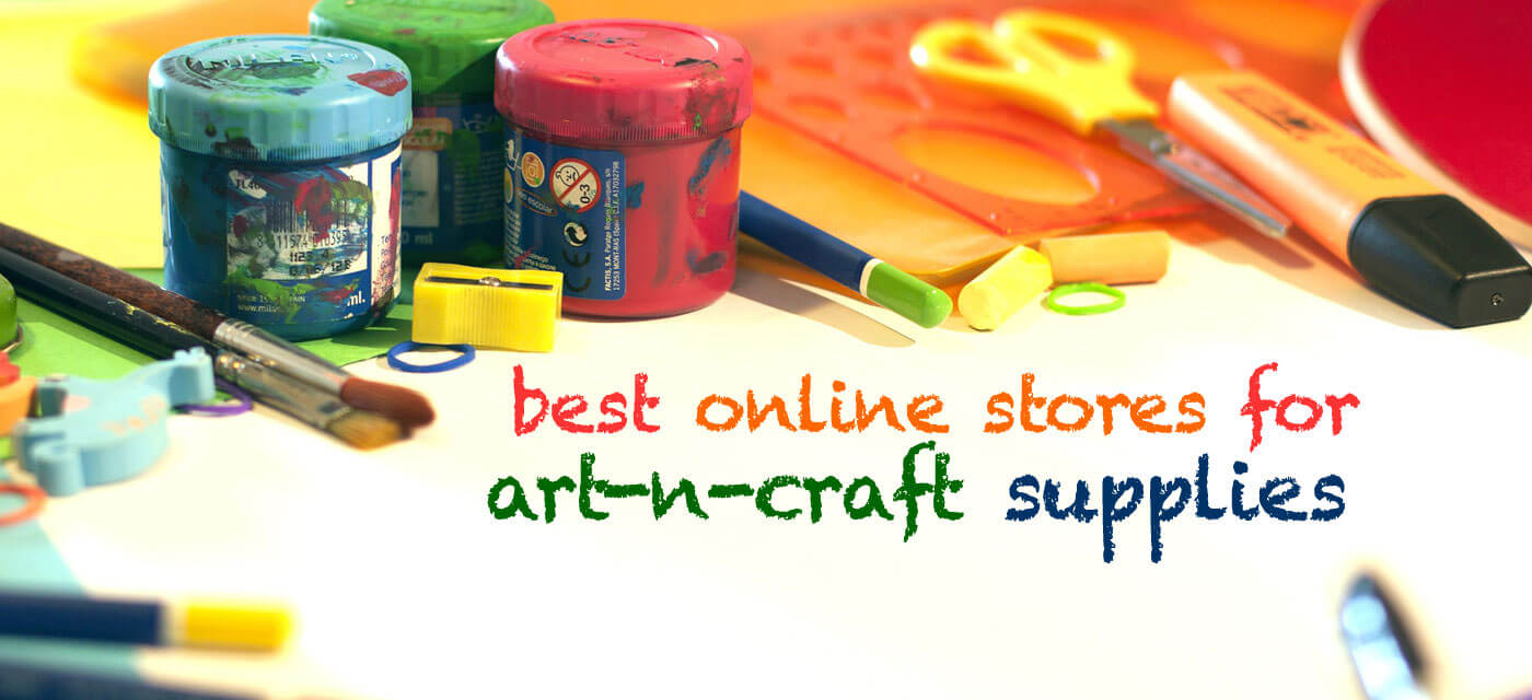 best art and craft supplies online stores that ship
