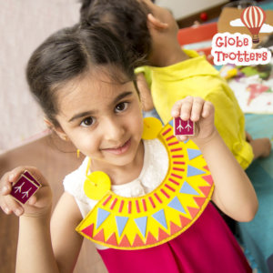 Craft Activity using Globe Trotters Box