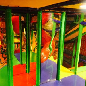 Maze Mirror at Funky Monkeys Orion Mall