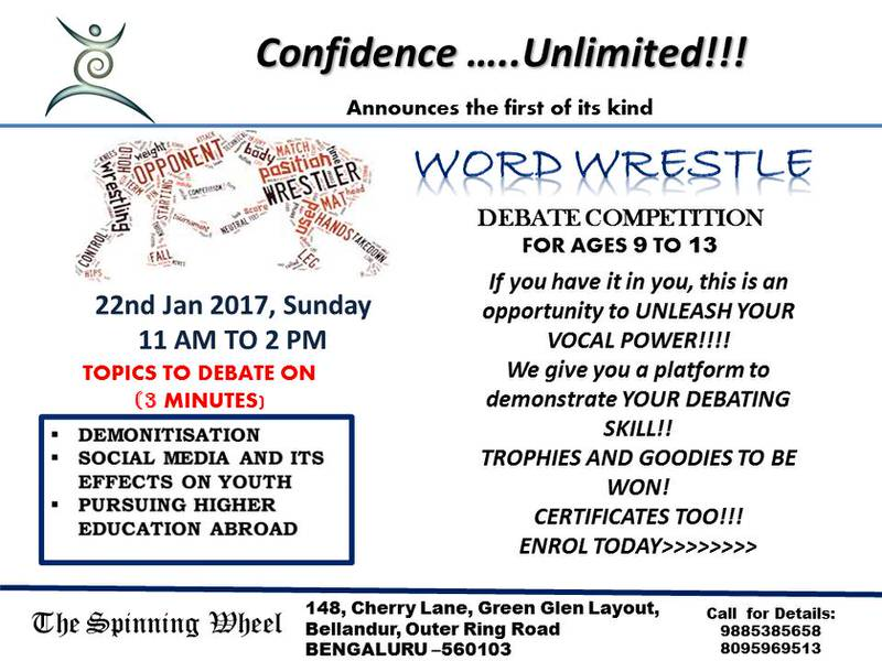 Word Wrestle – Debate Competition Cover Image