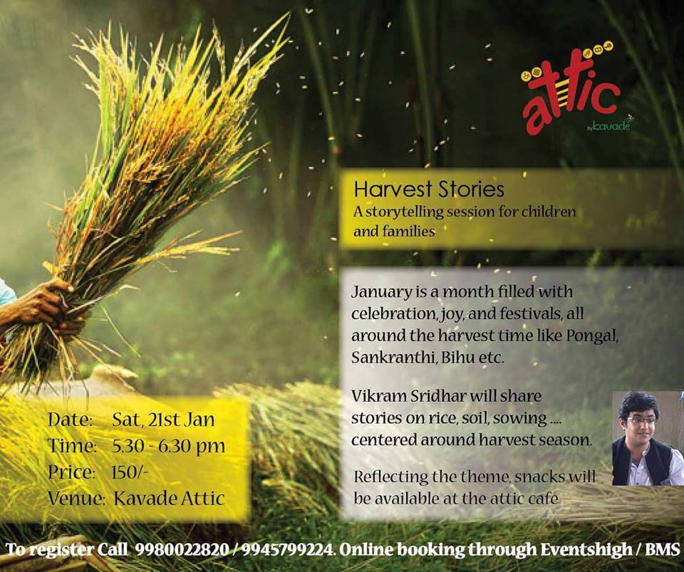 Harvest Stories for Children and Family Cover Image