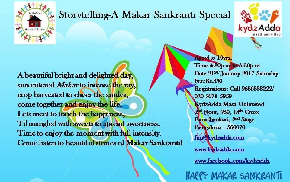Sankranti Special Storytelling Cover Image