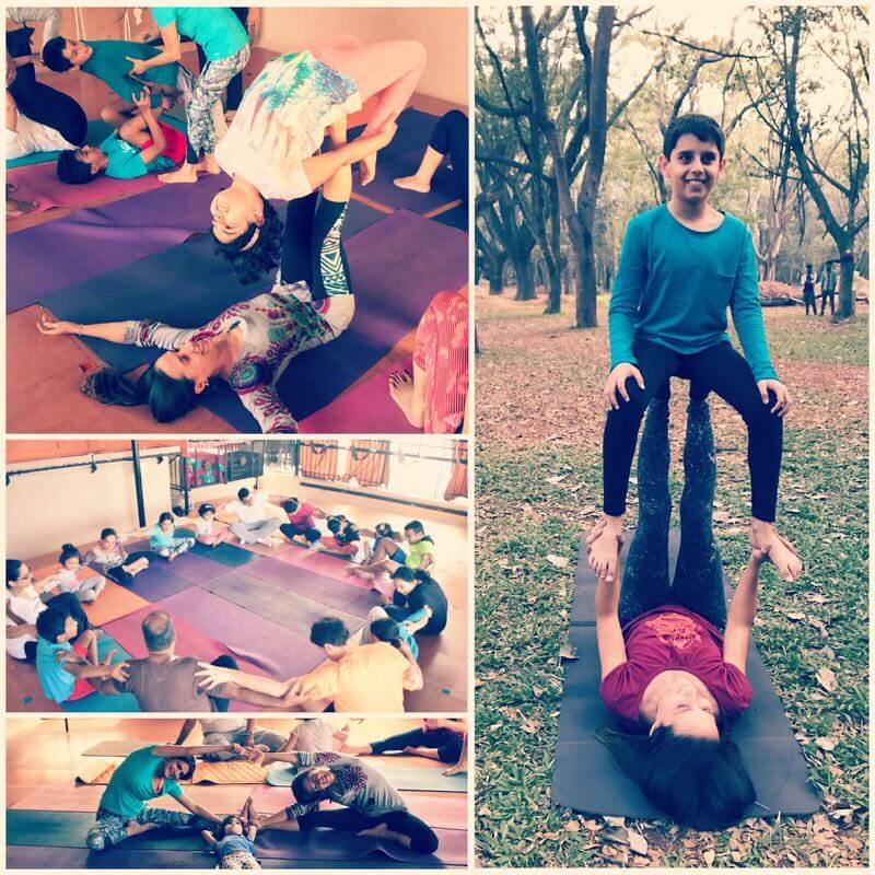 Fun Family Yoga Session Cover Image