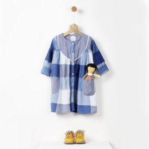 Pluie blue dress with pockets