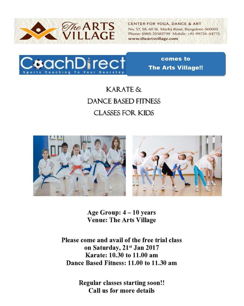 Karate & Dance Based Fitness – Trial Class Cover Image