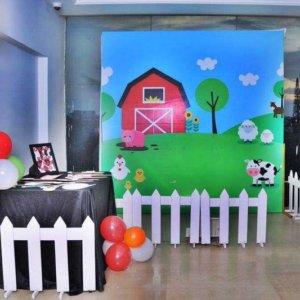 Farm Birthday Setup by Fiestaa Events