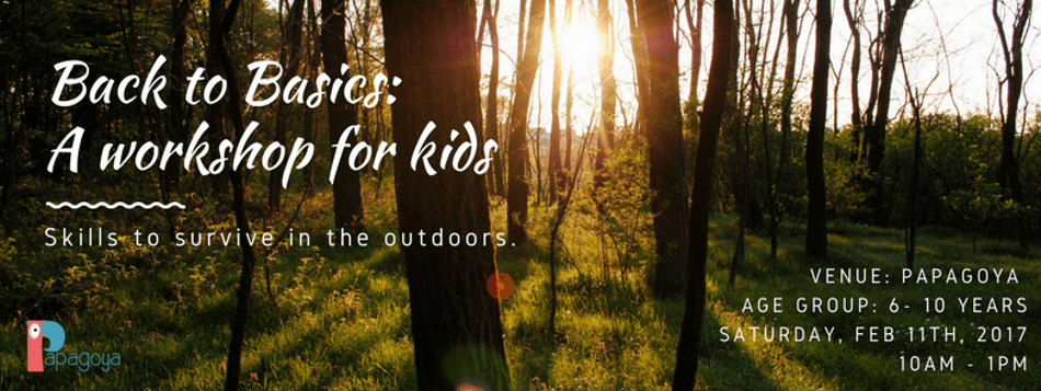 Back to Basics – Surviving the Outdoors Cover Image