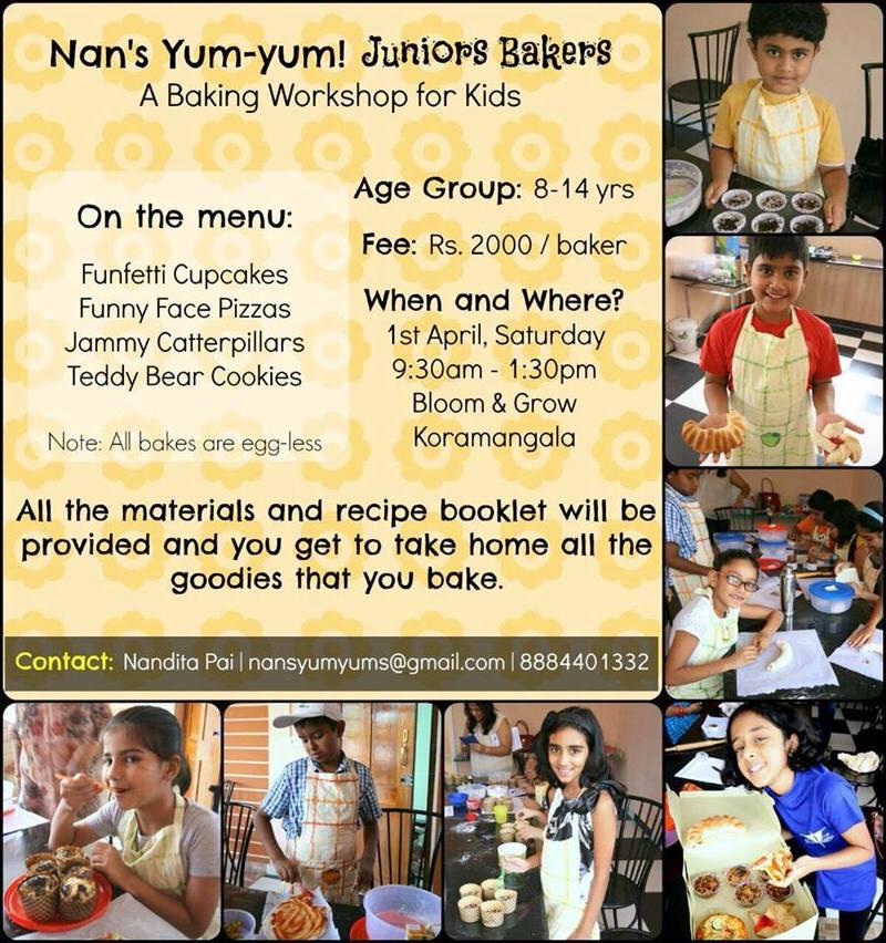 Nan's Yum Yum Baking Workshop Cover Image