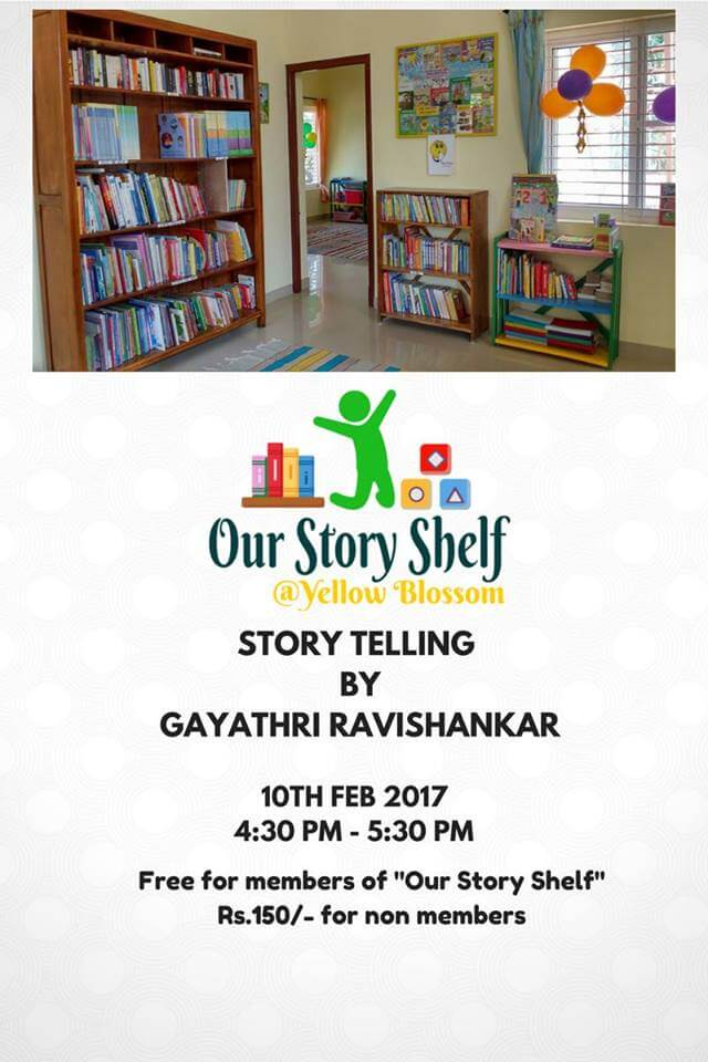 Story Telling at Our Story Shelf Cover Image
