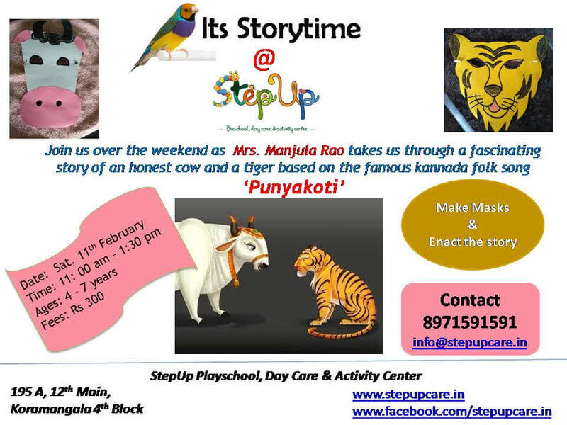 Storytime at StepUp Cover Image