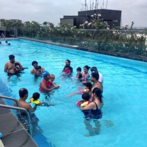 Nisha Millet Toddler Parent Swimming Program