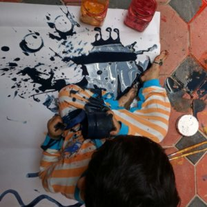 Toddler Fun Activity at The Atelier