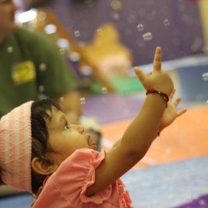 Bubble time at Little Tots