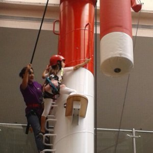 Little Climber at Clip 'n Climb