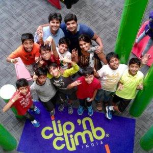 Birthday fun at Clip 'n Climb