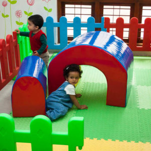 Soft Play area at Little Lmaps