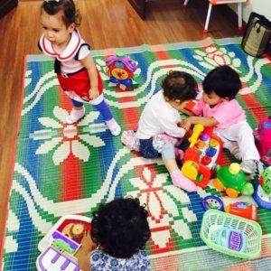 Toddlers learn to Socialise