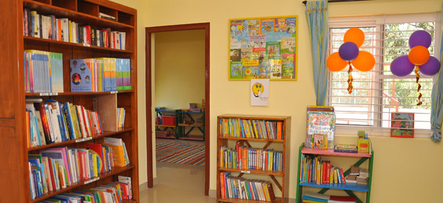 Our Story Shelf Book Library