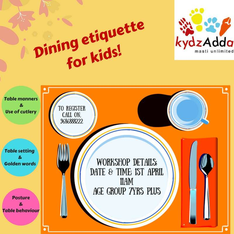 Dining Etiquette for Kids Cover Image