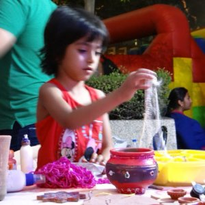 Birthday Party Craft Activity