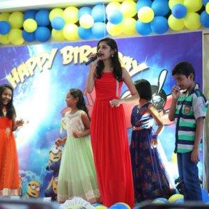 MC at Birthday event