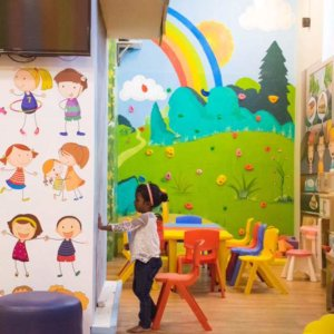 Kids Activity Zone at Awesome Place