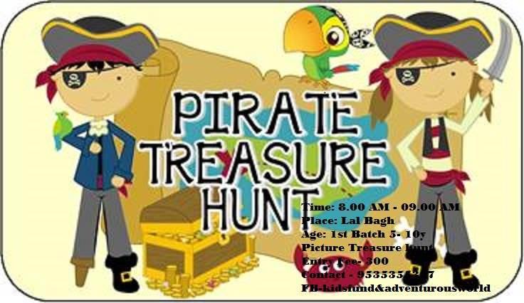 Picture Treasure Hunt – Pirates Cover Image