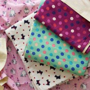 Organic Baby Flannel Blankets