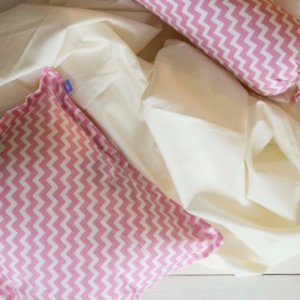 Pink Bbay Pillow Cover