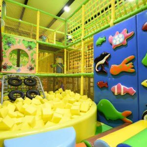 Colourful Play Zone at Tiny Tails