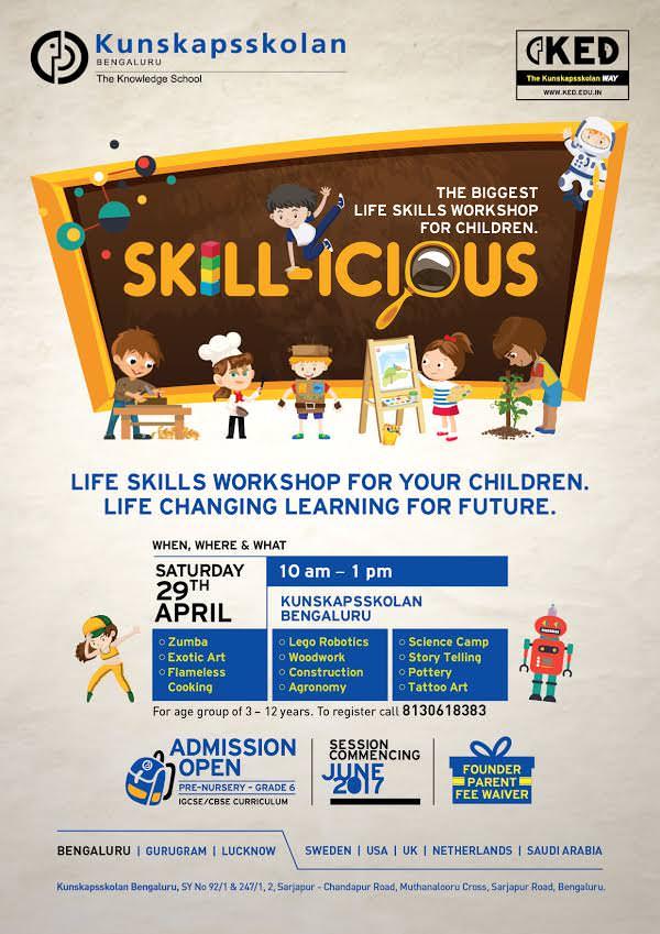 Skillicious – Life Skills Workshop Cover Image