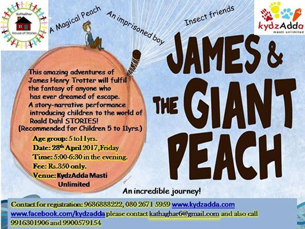 James & The Giant Peach Cover Image
