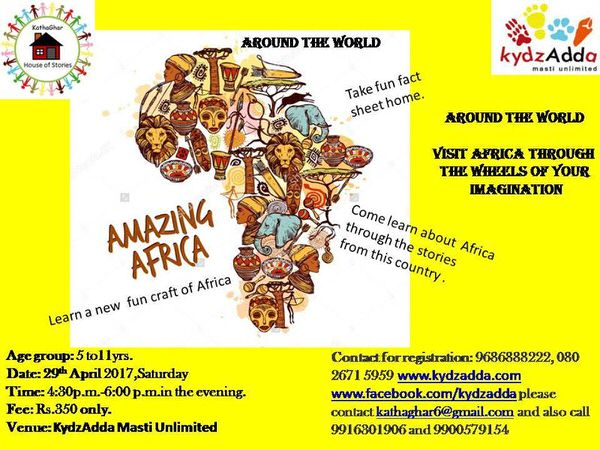 Discover Amazing Africa Cover Image