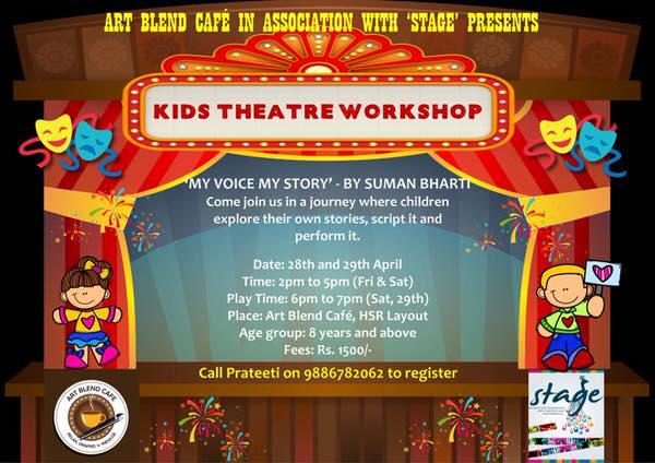 Kids Theatre Workshop Cover Image