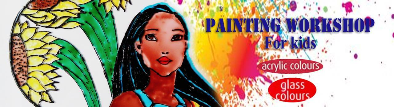 Acrylic & Glass Painting Workshop Cover Image