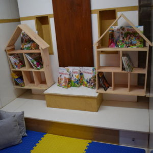 Reading Corner at Cubby Tales Hebbal