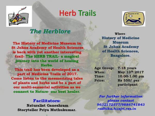 Herb Trails Cover Image