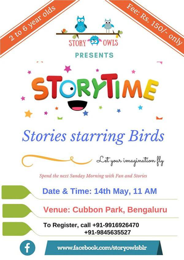 Stories Starring Birds Cover Image
