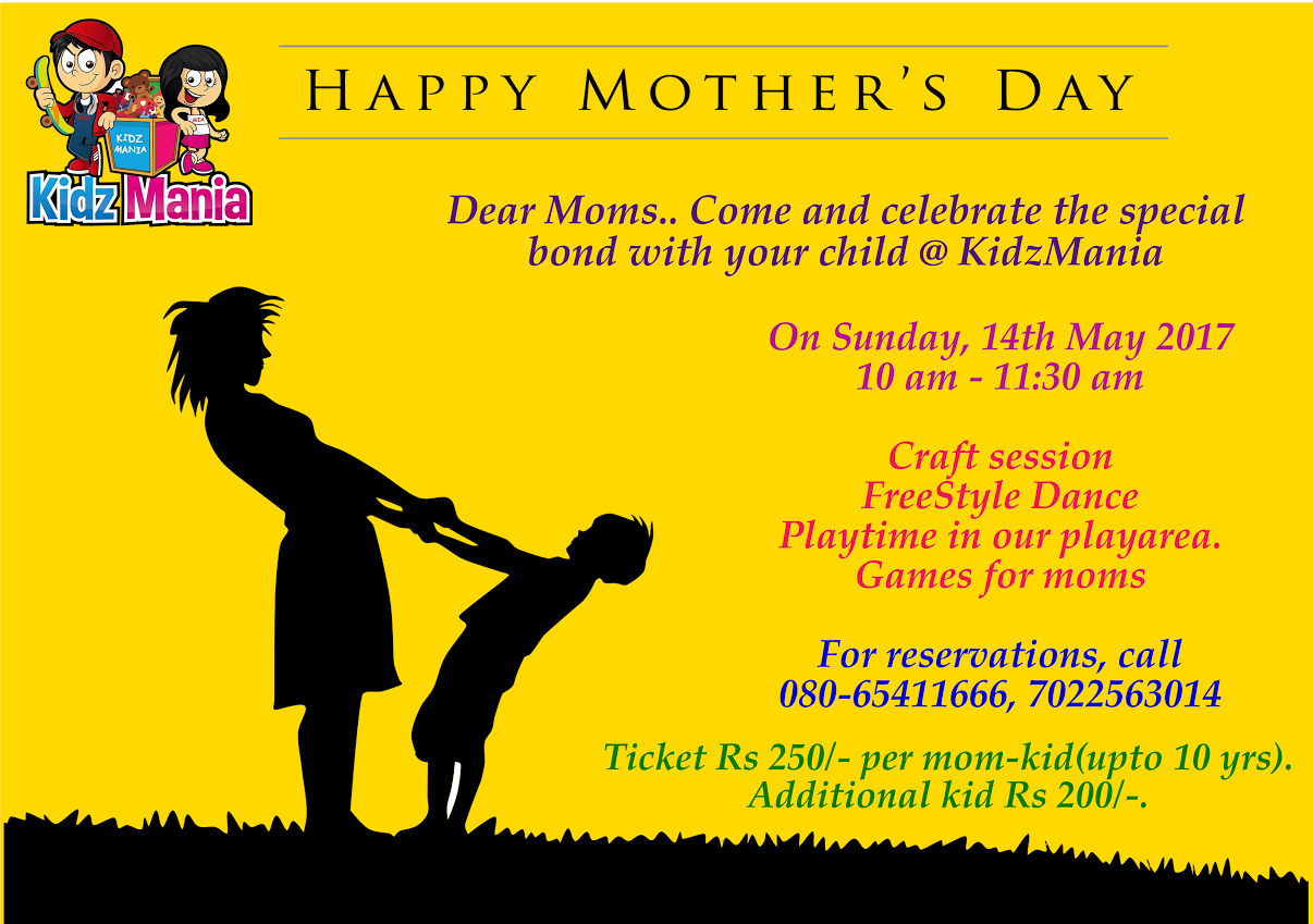 Mother's Day Celebration at Kidz Mania Cover Image