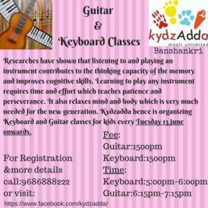 Guitar & Keyboard Classes