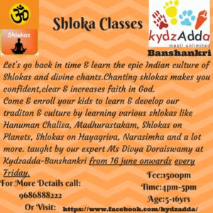Shloka Classes